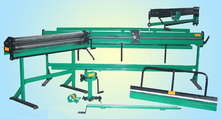 Оборудование для производства водосточных систем и вентиляции